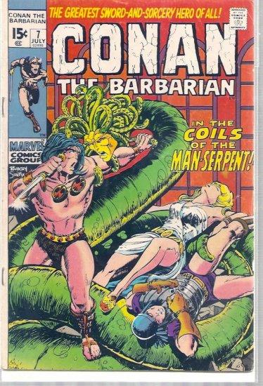 CONAN THE BARBARIAN # 7, 4.0 VG