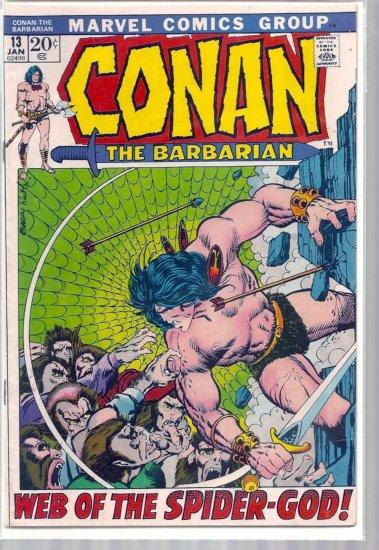 CONAN THE BARBARIAN # 13, 4.0 VG
