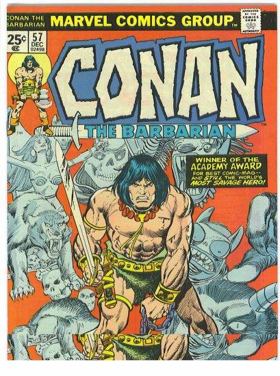 Conan The Barbarian # 57, 8.0 VF