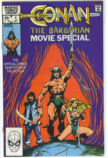 Conan The Barbarian Movie Special # 1, 8.0 VF