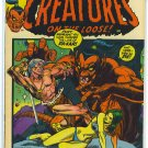 Creatures On The Loose # 19, 4.5 VG +