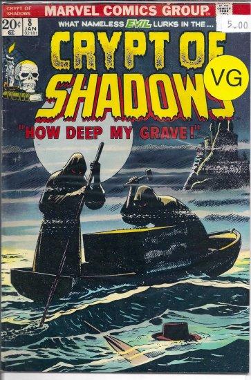 Crypt Of Shadows # 8, 4.0 VG