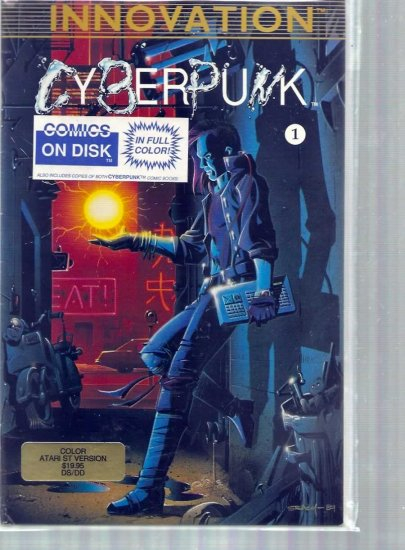 CYBERPUNK # 1, 4.5 VG +