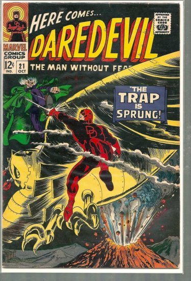 DAREDEVIL # 21, 5.0 VG/FN