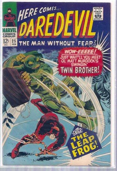 DAREDEVIL # 25, 7.5 VF -