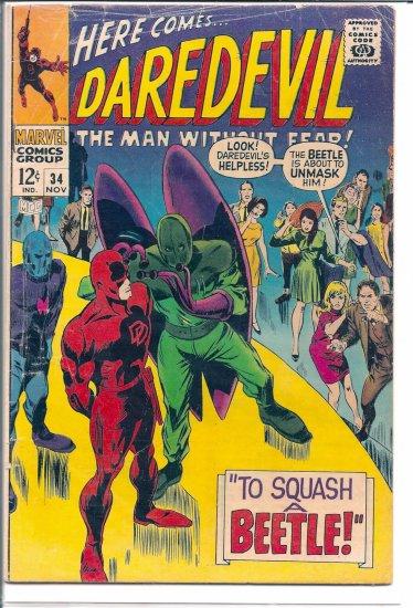 DAREDEVIL # 34, 4.0 VG