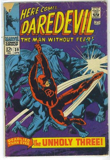 Daredevil # 39, 2.5 GD +