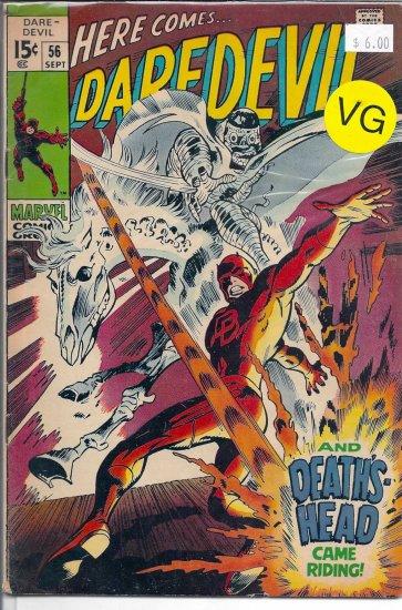 Daredevil # 56, 4.0 VG