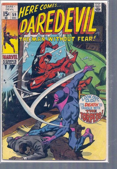 DAREDEVIL  # 59, 3.0 GD/VG