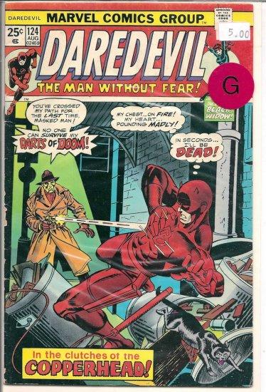 Daredevil # 124, 2.0 GD