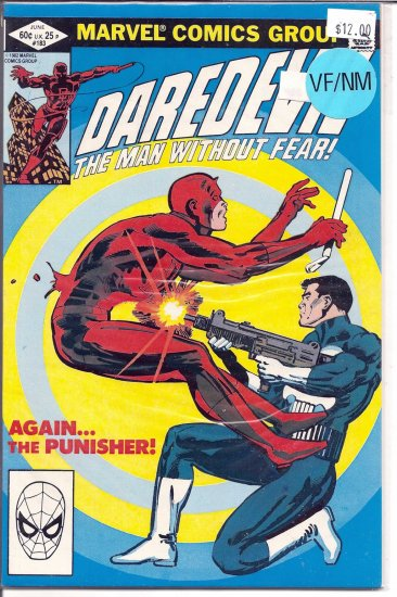 Daredevil # 183, 9.0 VF/NM