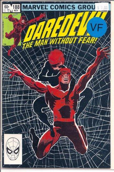 Daredevil # 188, 8.0 VF