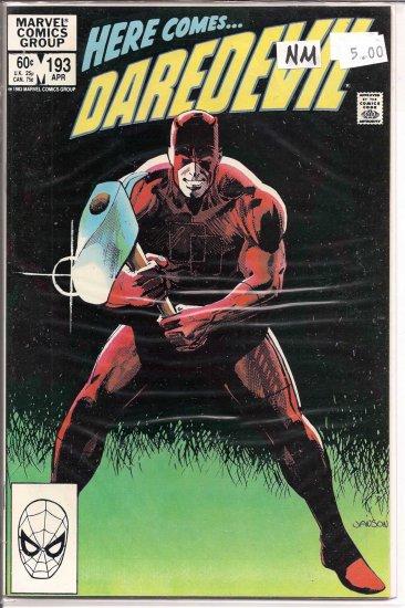 Daredevil # 193, 9.4 NM