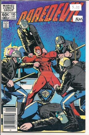 Daredevil # 195, 9.4 NM