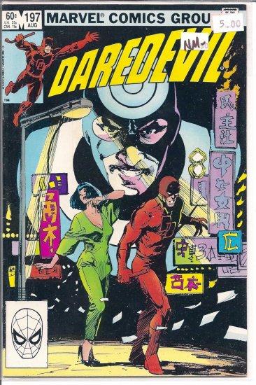 Daredevil # 197, 9.2 NM -