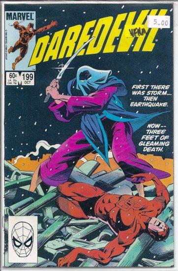 Daredevil # 199, 9.0 VF/NM