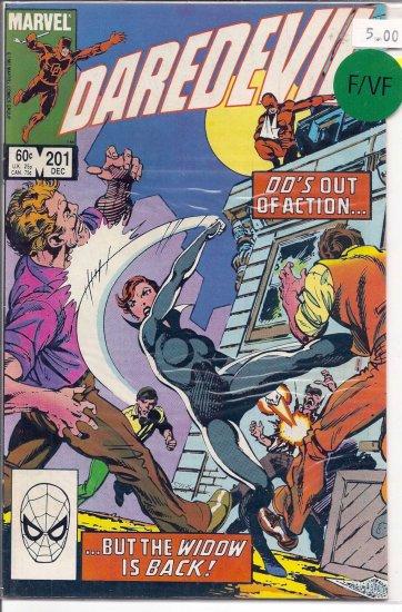 Daredevil # 201, 7.0 FN/VF