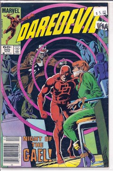 Daredevil # 205, 9.0 VF/NM