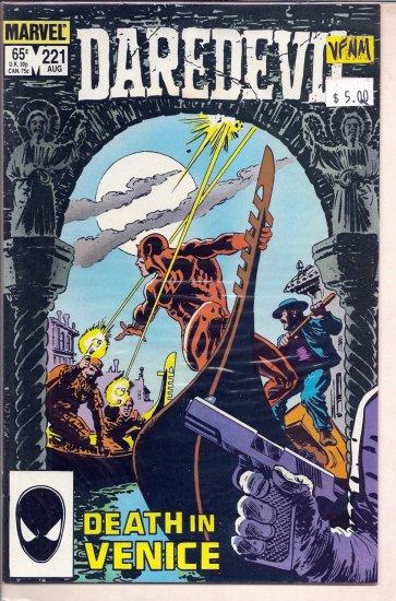 Daredevil # 221, 9.0 VF/NM