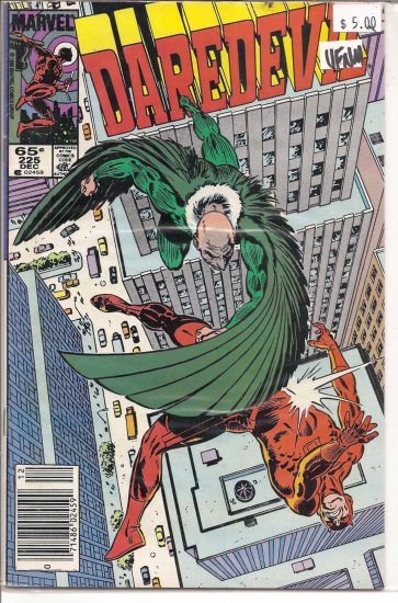 Daredevil # 225, 9.0 VF/NM