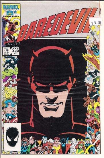 Daredevil # 236, 9.0 VF/NM