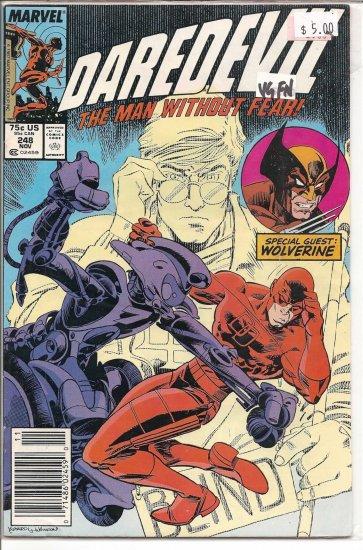 Daredevil # 248, 5.0 VG/FN
