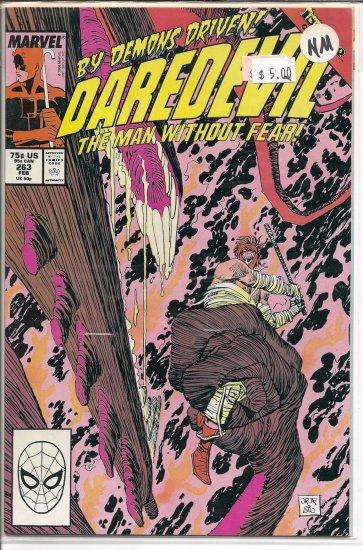 Daredevil # 263, 9.4 NM