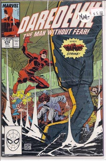 Daredevil # 274, 9.2 NM -