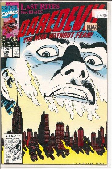 Daredevil # 299, 9.2 NM -