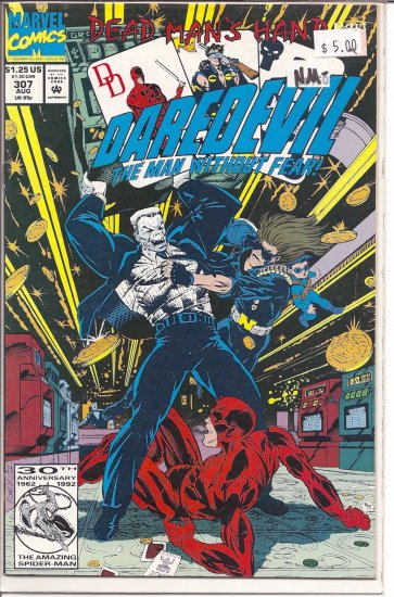 Daredevil # 307, 9.2 NM -