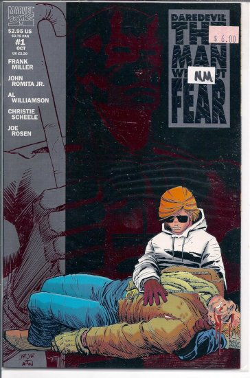 Daredevil The Man Without Fear # 1, 9.4 NM