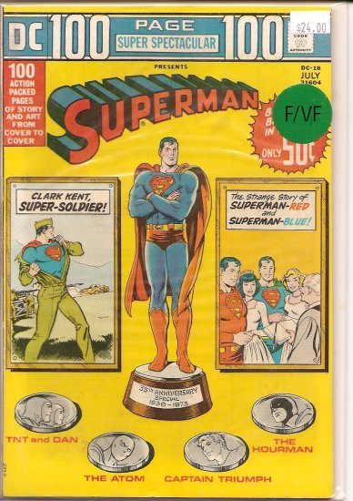 DC 100 Page Super Spectacular # 18, 7.0 FN/VF
