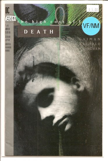 Death: The High Cost Of Living # 1, 9.0 VF/NM