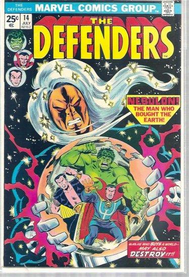 DEFENDERS # 14, 4.5 VG +