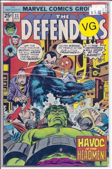 Defenders # 33, 4.0 VG