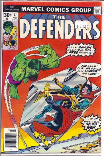 Defenders # 41, 9.0 VF/NM