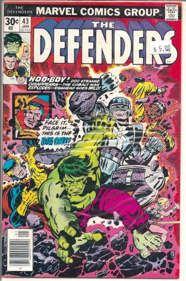 Defenders # 43, 7.0 FN/VF