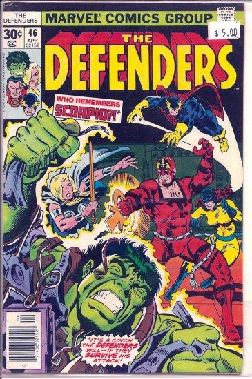 Defenders # 46, 8.5 VF +