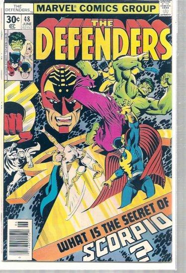 DEFENDERS # 48, 4.5 VG +