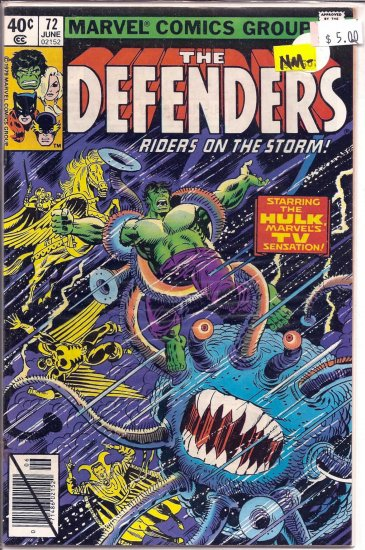 Defenders # 72, 9.2 NM -