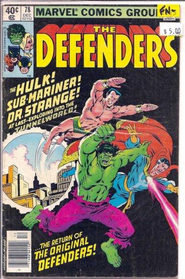 Defenders # 78, 5.5 FN -