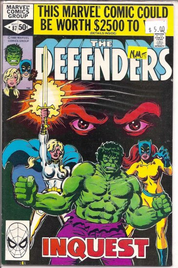 Defenders # 87, 9.2 NM -