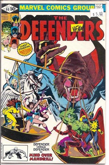 Defenders # 90, 9.0 VF/NM