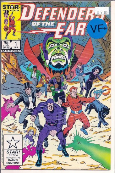 Defenders of the Earth # 1, 8.5 VF +