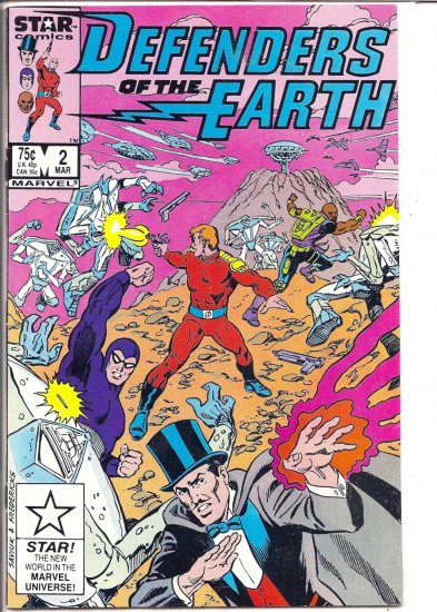 DEFENDERS OF THE EARTH # 2, 5.5 FN -