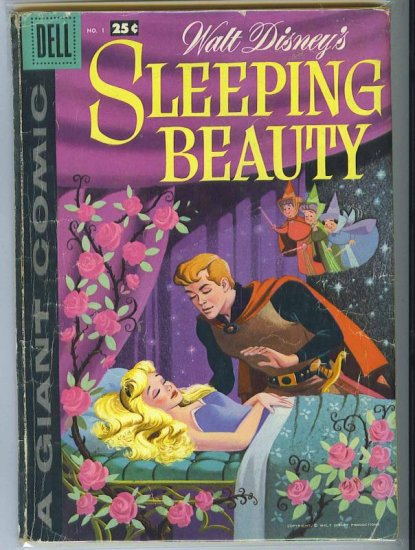 Dell Giant Sleeping Beauty # 1, 2.5 GD +