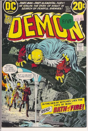 Demon # 2, 7.0 FN/VF