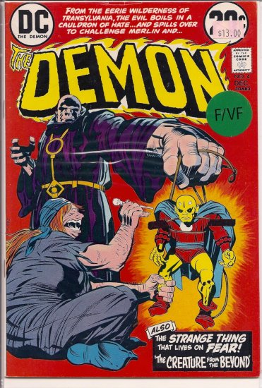 Demon # 4, 7.0 FN/VF