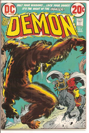 Demon # 6, 8.0 VF
