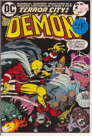 Demon # 12, 8.0 VF